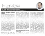 Dr. Vucic im Moments Magazin